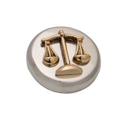 PAPERWEIGHT SYMBOL OF JUSTICE
