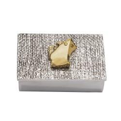 PANDORA ARTSHOP BOX-TANKER ALUMINIUM BRONZE 10x8x3cm