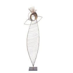 PANDORA ARTSHOP EYE SCULPTURE BRASS 66x22cm